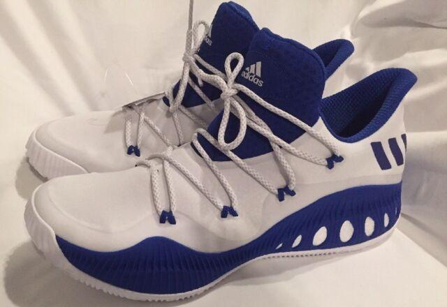 Hombre Adidas Crazy explosivo by3231 baja zapatos de baloncesto, tamaño 13 Azul
