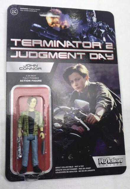Funko ReAction Terminator T2 Judgment Day John Connor 3 3//4 Action Figure