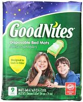 Goodnites Disposable Bed Mats, 36 Count , New, Free Shipping on sale