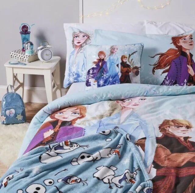 Reversible New Disney Frozen 2 Olaf Bedding Set Single Duvet Set