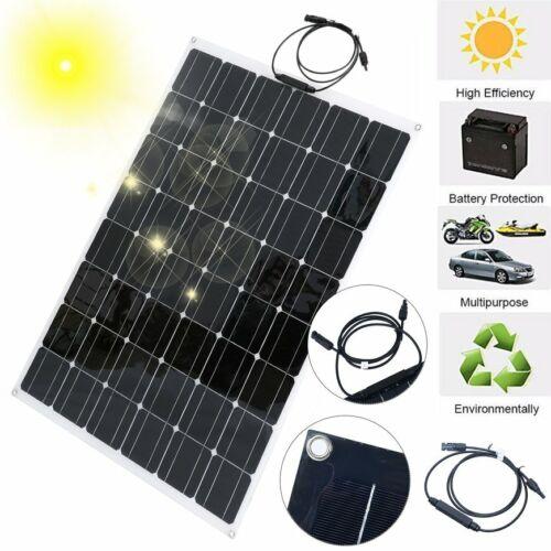 150W 12V//24V Flexi Monocrystalline Solar PV Panel motorhome//camper//caravan KR