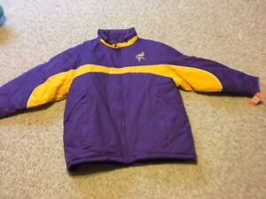 newest 7cae3 8d59d Details about Minnesota Vikings Winter Jacket - Never Warn, Still with  Original Tags
