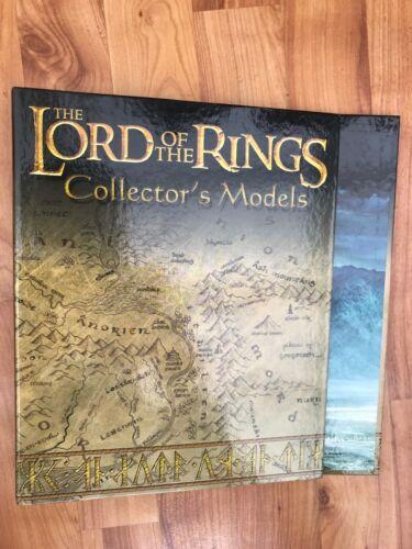 LORD OF THE RINGS COLLECTOR/'S MODELS MAGAZINE FOLDER EAGLEMOSS FIGURE BINDER