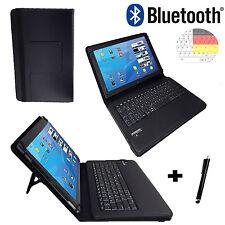 Bluetooth Tastatur Tasche Samsung Galaxy Tab A 2016 10.1 zoll Deutsch Hülle BT