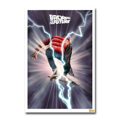 BACK TO THE FUTURE Movie Art Canvas Poster 12x18 24x36 inch