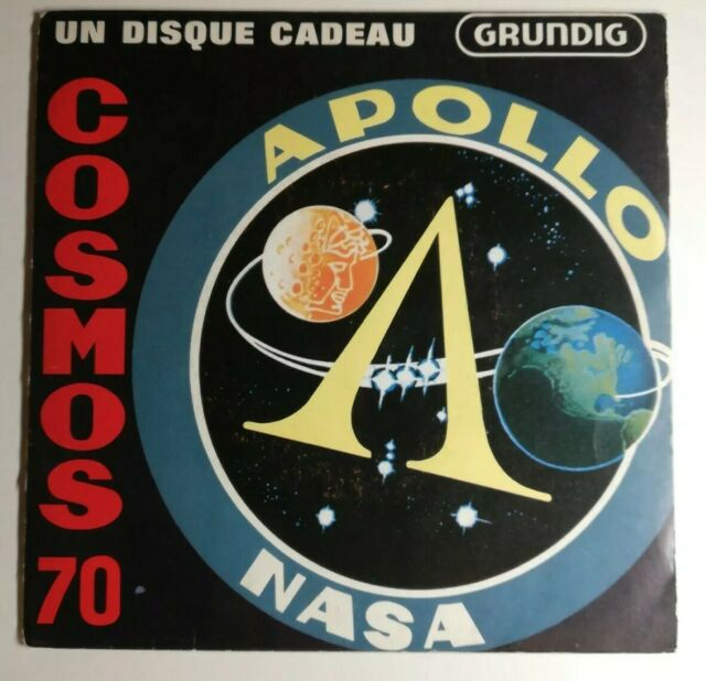 COSMOS 70 DISQUE 45T PROMO GRUNDIG APOLLO NASA