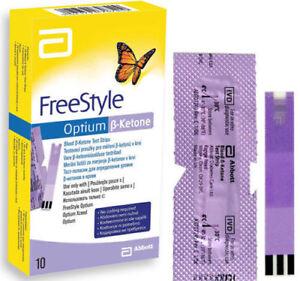 Abbott Freestyle Optium Neo Glucose Monitor Test Strips Ketone