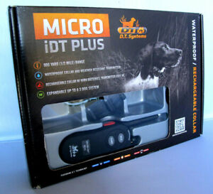 D-T-Systems-Micro-IDT-Plus-900-YD-Range-Electronic-Dog-Training-Collar