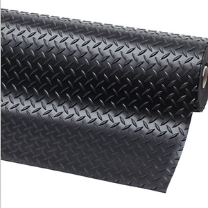 3m x 1m1 Bar Checker Rubber Garage Flooring Matting3mm Thick Floor