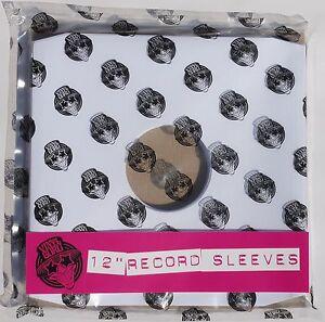 Pack-of-100-x-12-inch-Vinyl-Record-Album-LP-White-Paper-Inner-Sleeves