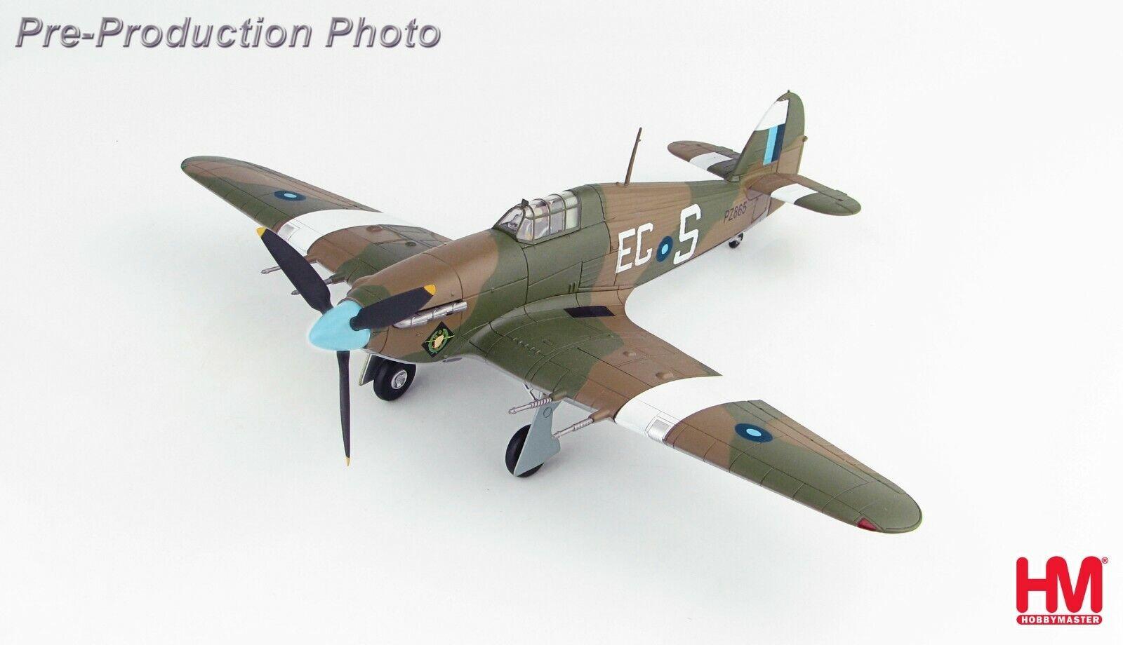 Hawker Hurricane IIC Battle of Britain Memorial Flight 2010 Hobbymaster HA8651