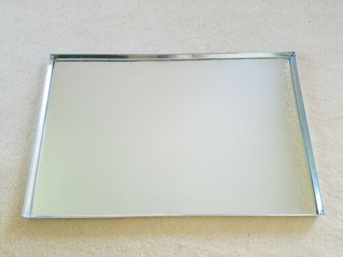 Everila Replacement Dog Crate Metal Pan Tray Galvanized Steel For 36x24 Crate