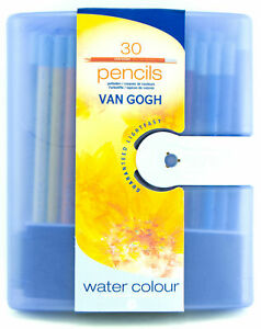 Van-Gogh-Aquarelle-Water-Colour-Pencils-Set-30-Colors-Lightfast-Water-soluble