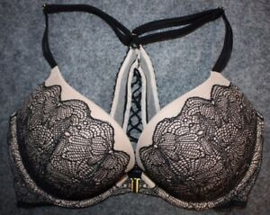 ce85b04f17a Victorias Secret Very sexy push up Bra Front Close Strappy Back ...