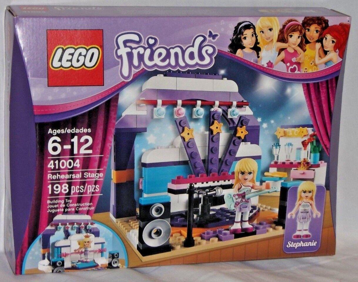 SEALED 41004 41004 41004 LEGO Friends REHEARSAL STAGE Stephanie Blonde Guitar 198 pcs set 0188c7