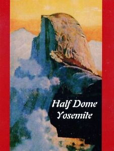POST-CARD-OF-A-VINTAGE-TRAVEL-POSTER-FOR-YOSEMITE-NATIONAL-PARK-CALIFORNIA