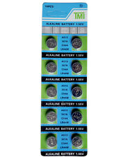 10x Knopfzelle Batterien Batterie Alkaline Uhrenbatterie AG13 , 357, LR44, - G13