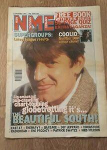 NME MAGAZINE / NEWSPAPER NOVEMBER 11 1995 BEAUTIFUL SOUTH / EAST 17 / PRODIGY
