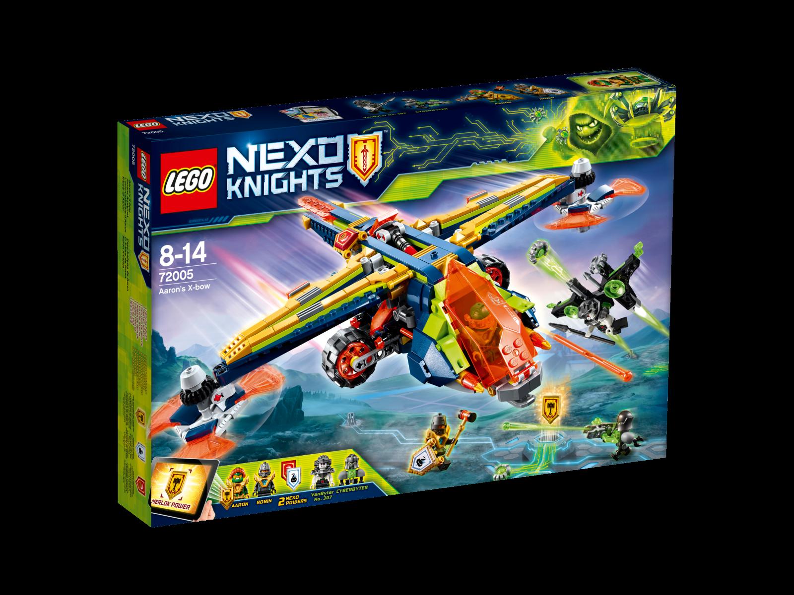 LEGO ® Nexo Knights ™ 72005 Aarons Mauro NUOVO OVP _ Aaron's X-Bow NEW MISB NRFB