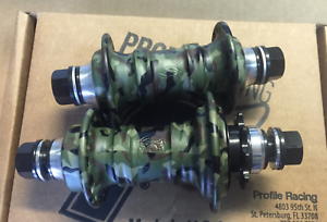 PROFILE  RACING LIMITED CAMO MINI HUB SET CAMOUFLAGE HUBS RHD BMX BIKE RIGHT  cheap and fashion