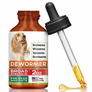 GOODGROWLIES-Dewormer-for-Dogs-amp-Cats-Made-in-USA-Broad-Spectrum-Worm-Treatmen