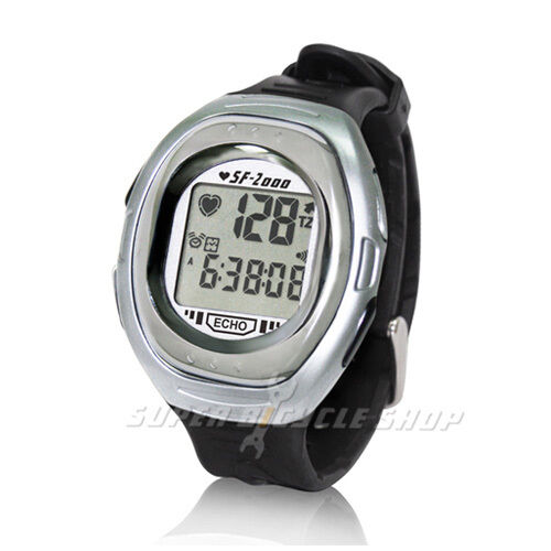ECHOWELL  SF2000 Heart Rate Monitor Watch , Titanium  selling well all over the world