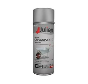 peinture bombe galvanisation a froid brillant aerosol 400ml julien tous supports ebay. Black Bedroom Furniture Sets. Home Design Ideas