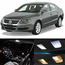 12x White Interior LED Lights Package Kit for 2006-2011 Volkswagen Passat B6 VW