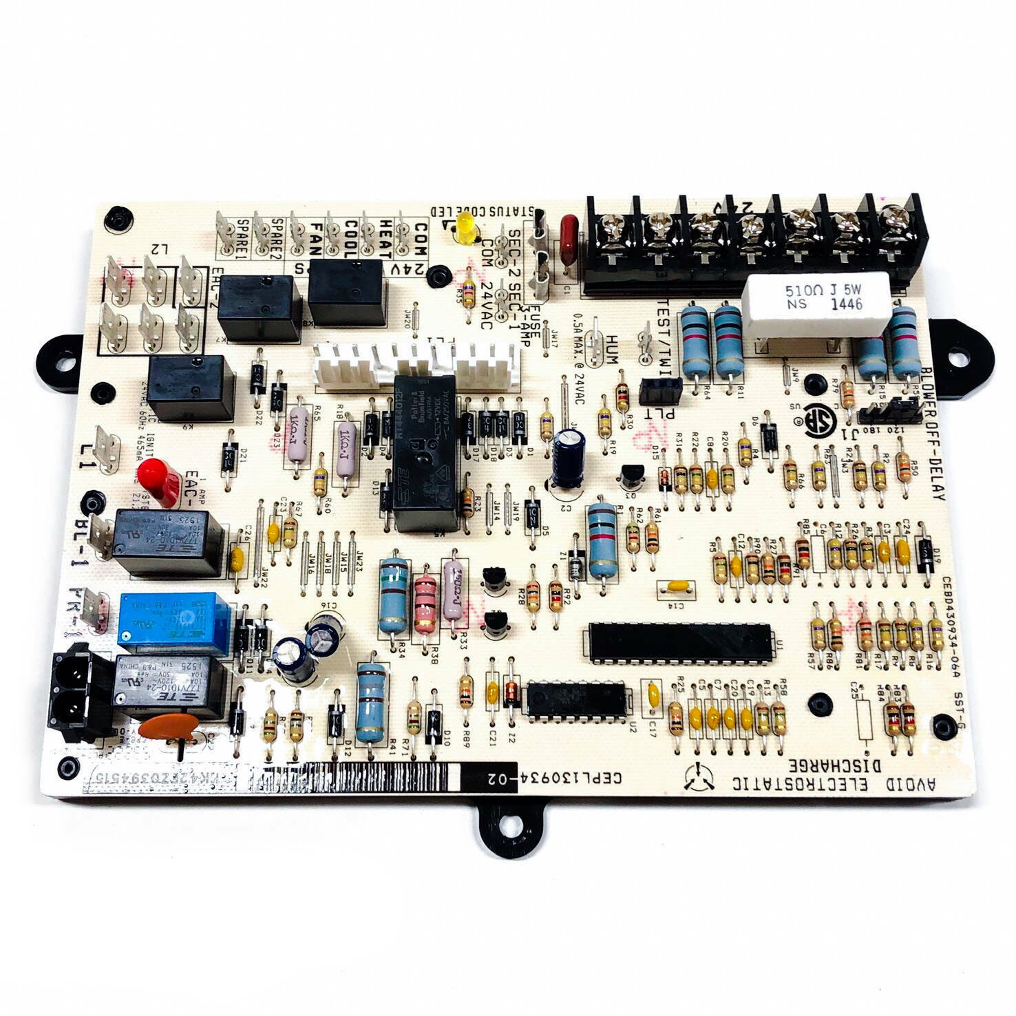 HK42FZ039 Carrier OEM Replacement Furnace Control Board
