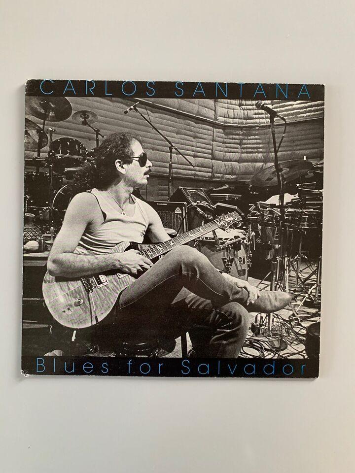 LP, Carlos Santana, Blues for Salvador Demonstrations LP