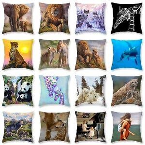 Family Love Polyester Pillowcase Pillow Cover Car Sofa Cushion Cover Home Decor eBay