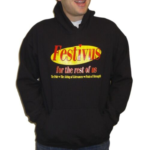 Festivus For The Rest Of Us Hoodie Sweatshirt Seinfeld Christmas Kramer Costanza