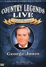 George Jones - Country Legends Live Mini Concert, New DVD, George Jones, N/a