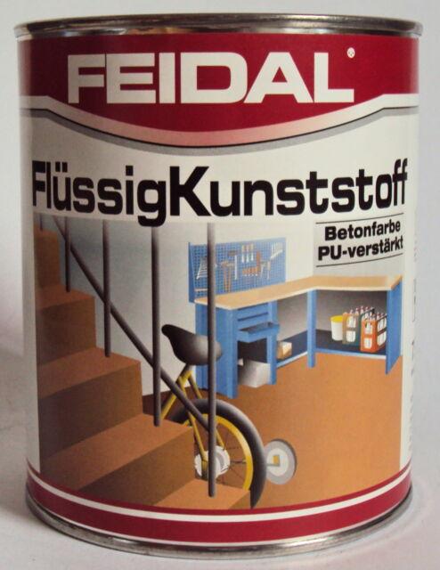 Feidal Flüssigkunststoff, f. Metall, Holz , Beton, farblose Beschichtung, ölfest