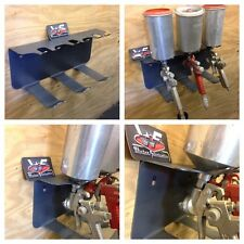 Paint Gun Holder - Spray Gun Rack - Garage Organization - Shop Tools