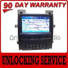 GM Chevy Chevrolet Cadillac GMC Navigation GPS Radio Unit UNLOCKING SERVICE