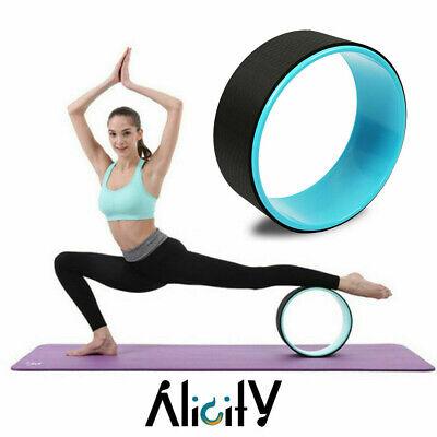 pilate cork yoga wheel ring circle prop back chest abdomen