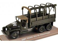 GMC CCKW 353, Militär Fahrzeug Auto Modell 1:43, Atlas Magazinmodell