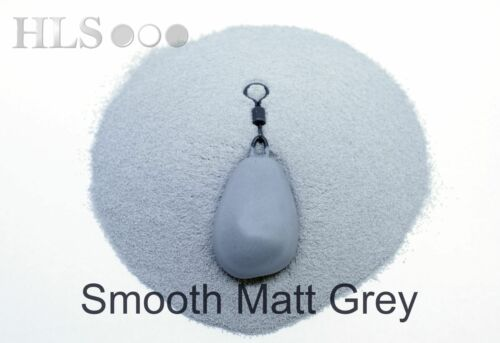 Glatt Matt Jig Kopf // Blei Beschichtungspulver Plastik - Hls Angelzubehör SMP
