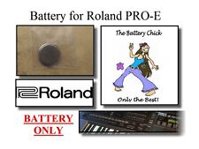 Battery for Roland PRO-E Intelligent Arranger - Internal Memory Battery