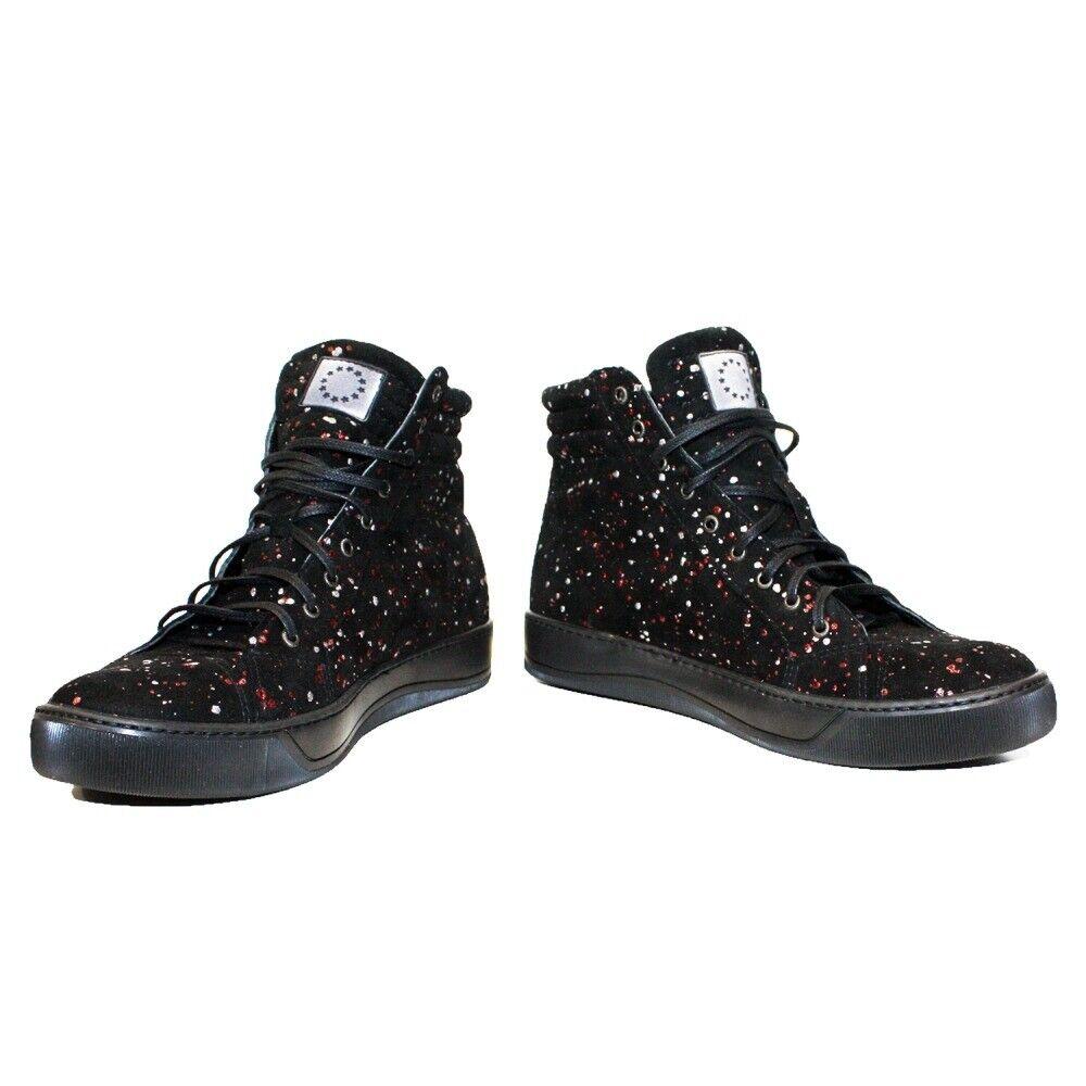 Modello Frottero - Handmade Italian Black Fashion Sneakers Casual Shoes - Cowhid