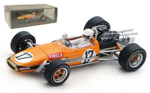 Spark S5255 Brabham Bt24 'gunston' Gp sud-africain 1969 - Sam Tingle à l'échelle 1/43 9580006952554