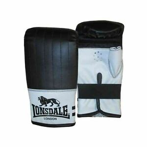 Boxing Gloves Focus Pads Curved Black White Punch Bag Gym Training MMA Mitts NEW