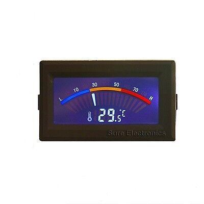 Digital Temperature Thermometer Meter Gauge C/F PC MOD