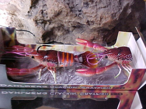 River2Sea Dahlberg Clackin/' Crayfish CLC130-03 in BROWN//RED for BASS//Pike
