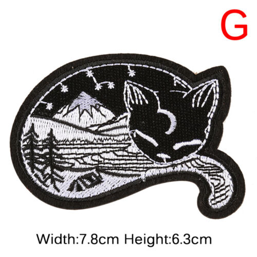 Punk Embroidery Sew On Iron On Patch Clothes Badge Fabric Applique  Sticker/_SH