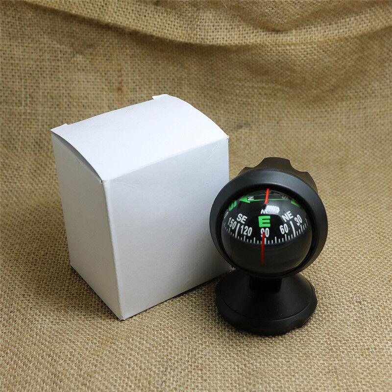 Mini Schwarz Auto Dashboard Boat LKW Saugen Tasche Kompass Navigation N0S8
