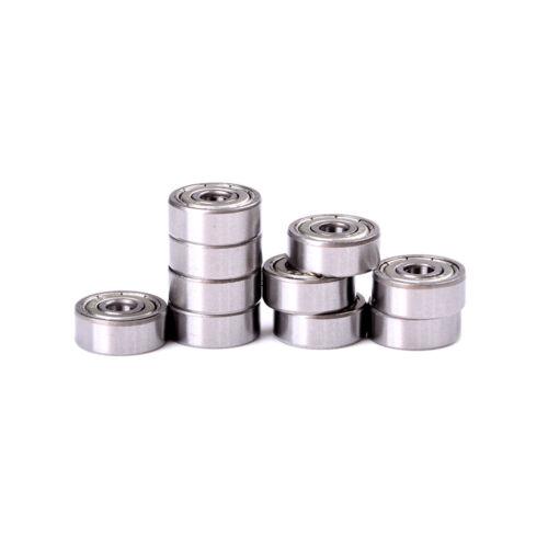 10pcs 4x13x5mm Shielded Micro Mini Small Wheel Ball Bearings 624Z High-qualityBS