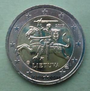 Litauen 2 Euro Münze 2017 Standard Kursmünze Euromünze Lithuania