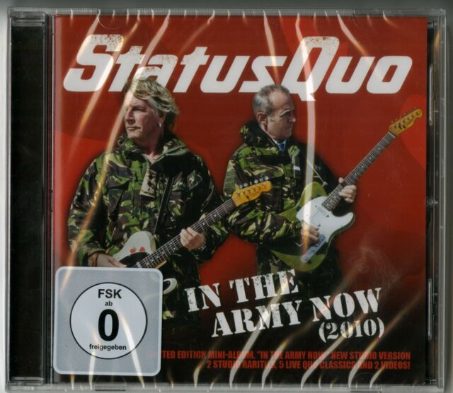 Status Quo: CD - in The Esercito Now - Nuovo